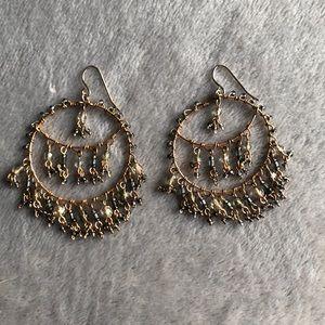 Jewelry - Gold chandelier earrings